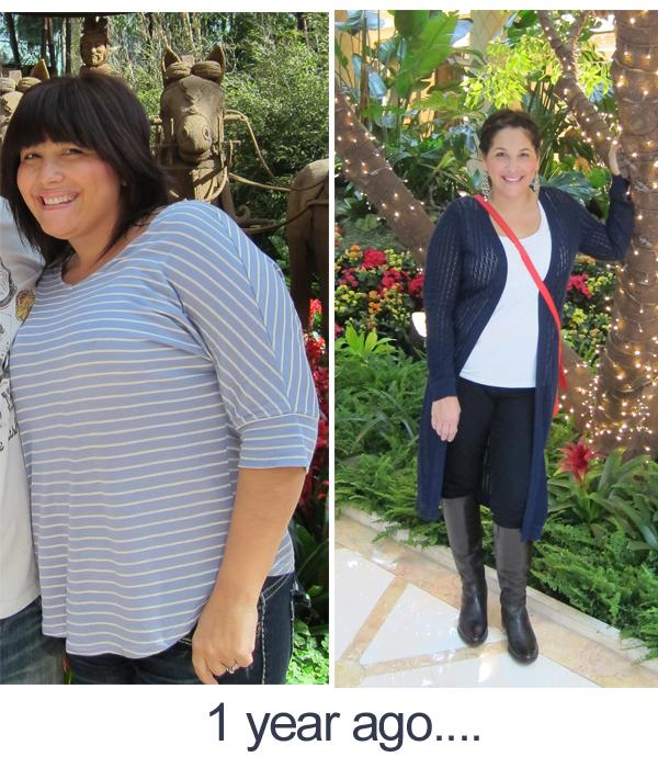 Weightloss 1 year